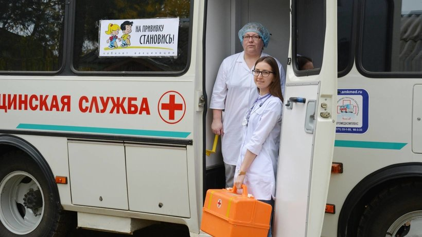 Мобильная медицинская служба Устьянской ЦРБ