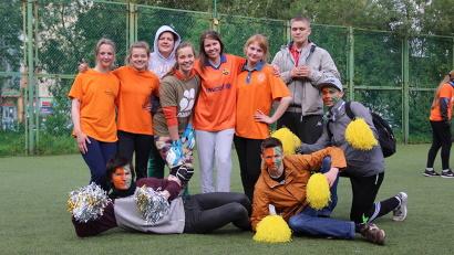 Турнир по мини-футболу был посвящен 50-летию движения студенческих отрядов в Архангельской области