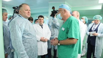 Николай Цуканов сообщил, что из резервного фонда Президента планируется выделение средств на приобретение нового операционного оборудования