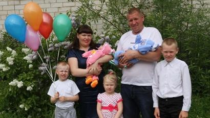 Накануне международного Дня семьи чета Рудных отметила свой семейный юбилей – десять лет совместной жизни