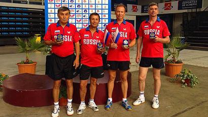 Россияне показали и командный дух и индивидуальное мастерство