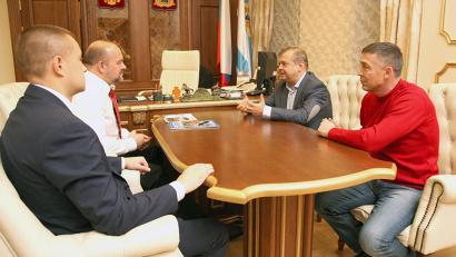 В ходе встречи было принято решение о проведении в Архангельске всероссийского первенства по дзюдо среди юношей «Кубок Арктики»