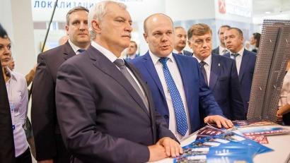 Виктор Иконников представил губернатору Санкт-Петербурга машиностроительный потенциал Поморья. Фото Центра импортозамещения и локализации