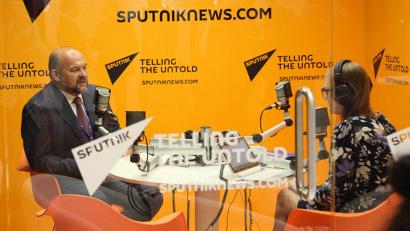 О роли кластеров в импортозамещении Игорь Орлов рассказал журналистам радиостанции «Спутник»