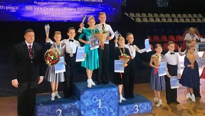 В острейшей конкуренции Виктор Кобельник и Полина Лола стали лучшей парой в латиноамериканской программе в возрастной категории «дети 2+1»