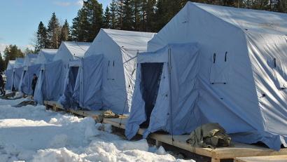 Участники форума будут жить в специальных «арктических» палатках