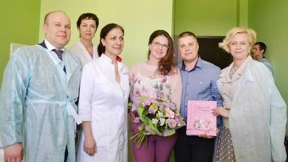 В семье Евгения и Наталии Маркушиных родилась тройня!