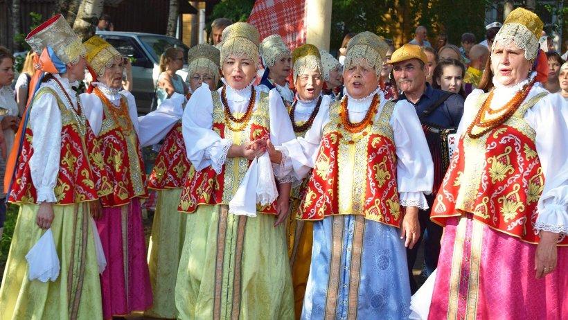 Гостей ждала большая концертная программа. Фото Ольги Хозяиновой