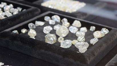 В 2017 году в Архангельской области было добыто без малого 7,5 миллиона карат алмазов