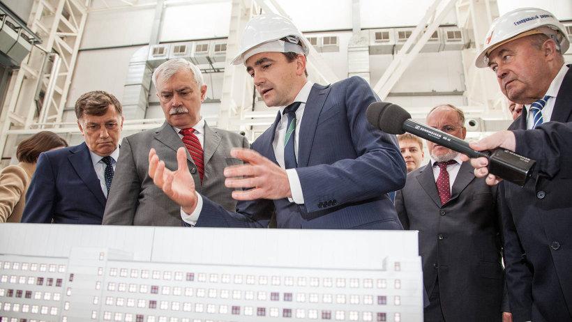 Губернатора Санкт-Петербурга Георгия Полтавченко познакомили с производством пропульсивных систем