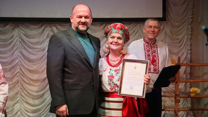 Игорь Орлов вручил Благодарности и Благодарственные письма наиболее активным участникам общественной организации