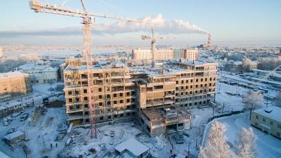Новый перинатальный центр возводится на территории Архангельской областной больницы