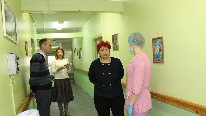В интернате Любовь Анисимова отметила надлежащий уровень обеспечения условий для жизни, развития и сохранения здоровья граждан