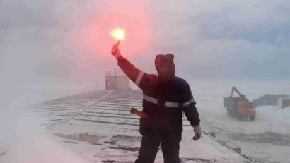 Сводный студенческий отряд северо-запада России «Гандвик» работал в Арктике два месяца!
