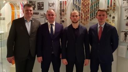 Делегация Поморья познакомилась с развитием мини-футбола и лыжного спорта в Республике Коми