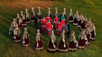 Северный русский народный хор приглашает всех желающих влиться в песенно-танцевальный хоровод
