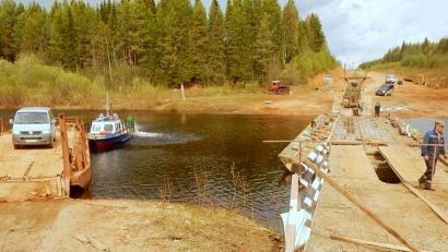 Когда спадут уровни воды, вместо паромов наведут круглосуточные понтонные переправы