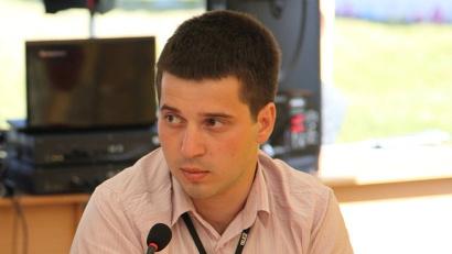 Сопредседатель молодёжного правительства Архангельской области Евгений Дерягин