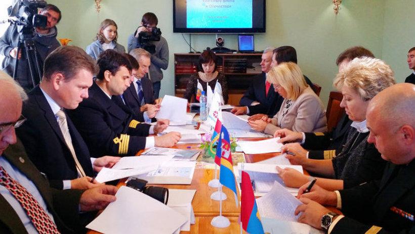 Одним из важных мероприятий форума стало подписание меморандума по взаимодействию молодёжи портовых городов России