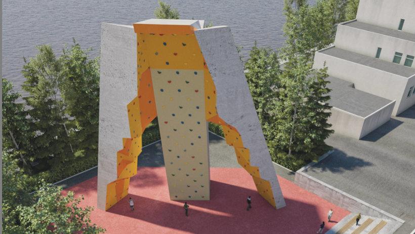 Так будет выглядеть новый скалодром в Северодвинске