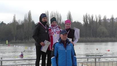 Маргарита Елфимова завоевала золотую медаль на первенстве России по гребле