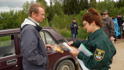 В ближайшие выходные госинспекторы лесничеств Архангельской области усилят патрулирование лесов региона