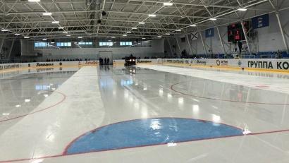 Новый Ледовый дворец в Устьянах обладает одной из самых современных спортивных площадок в Поморье