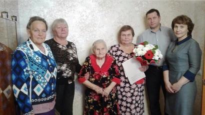 Нина Яхлакова из Вельска отмечает 100-летний юбилей