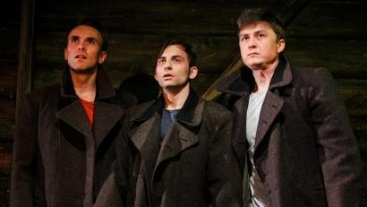 «Василий Тёркин» был представлен в конкурсной программе «Биеннале театрального искусства» в прошлом году