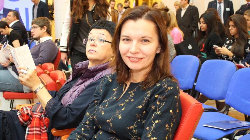 Марина Ледяева на форуме СМИ «СеЗаМ-2014» в Санкт-Петербурге