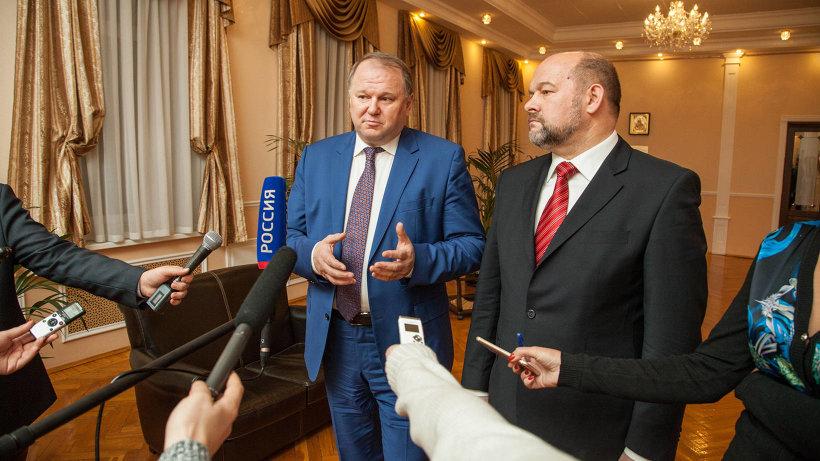 Полномочный представитель Президента в СЗФО рассказал журналистам о ключевых темах, которые обсуждались в ходе визита