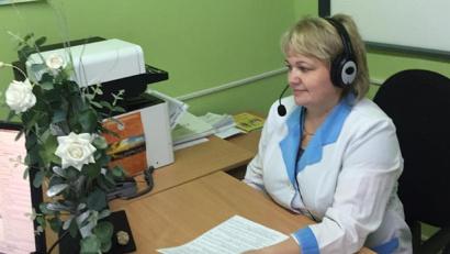 Медицинская сестра противотуберкулезного кабинета Вельской ЦРБ Татьяна Кудряшова