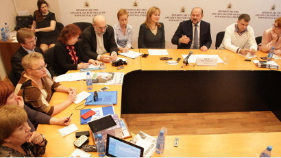 Губернатор Архангельской области встретился с руководителями городских и районных средств массовой информации