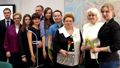 Участники олимпиады с наставниками
