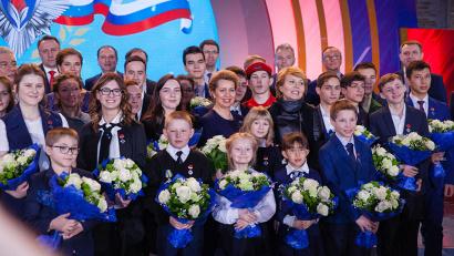 В Зале Славы Музея Победы состоялась шестая торжественная церемония награждения и чествования 28 лауреатов инициативы  «Горячее сердце»