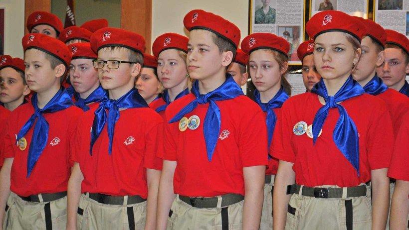 В «Юнармию» вступили пять отрядов из Архангельска и Северодвинска