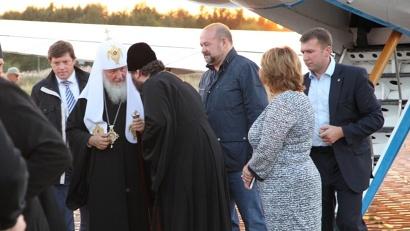 Традиционный визит Патриарха Кирилла на Соловки традиционно начался в день Преображения Господня