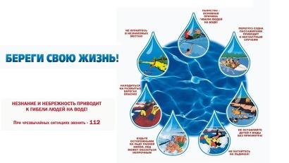 МЧС предупреждает: на воде нужно быть осторожными!