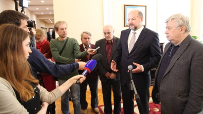 Игорь Орлов: «Правда Севера» должна остаться достоянием региона, её нужно сохранить»