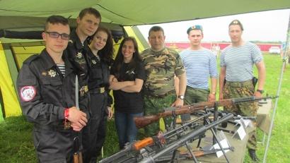 На выставке «Оружие Победы» в этом году были представлены не только исторические, но и современные образцы