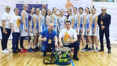 На суперфинале «КЭС-БАСКЕТА» наша команда – одна из самых молодых