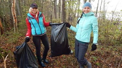 Энтузиасты готовы наводить порядок в лесу, но чисто не там, где убирают, а там, где не мусорят