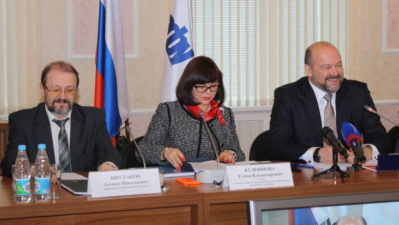 Игорь Орлов подчеркнул: встреча в САФУ – элемент разработки стратегии развития региона