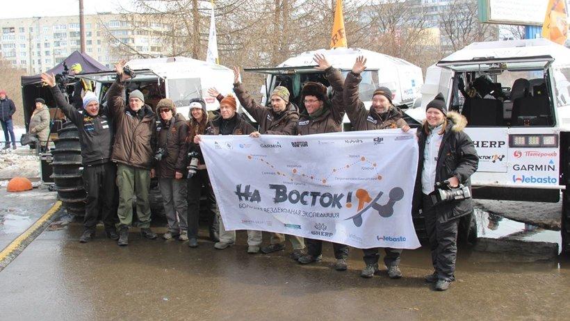 Путь через всю Евразию лежит через Мезень и Нарьян-Мар на Норильск, далее через плато Путорана и весь северо-восток Сибири до Камчатки