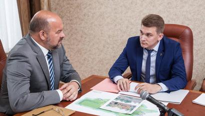 Губернатор Игорь Орлов обсудил с главой Вилегодского района Иваном Дементьевым «точки роста» муниципального образования