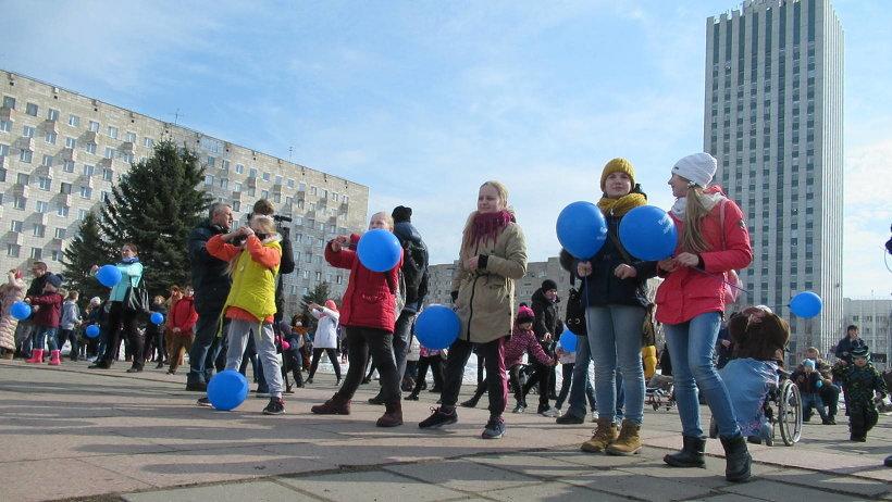 Праздник, посвященный Всемирному дню здоровья, прошел в центре Архангельска