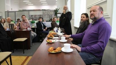 «Вера. Патриотизм. Духовность» — тема очередной встречи православном кафе САФУ.