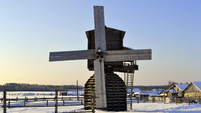 Северные мельницы - уникальный памятник плотницкого ремесла и развития научной мысли