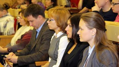 В конференции принимают участие специалисты из Архангельска, Новодвинска, Котласа, а также представители большинства районов области