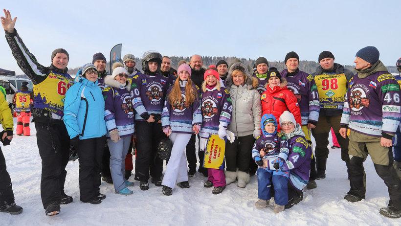 Около 100 спортсменов примут участие в гонках на снегоходах